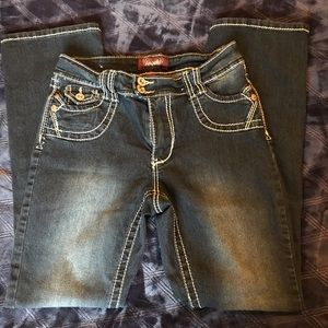 Angels jeans straight leg size 8